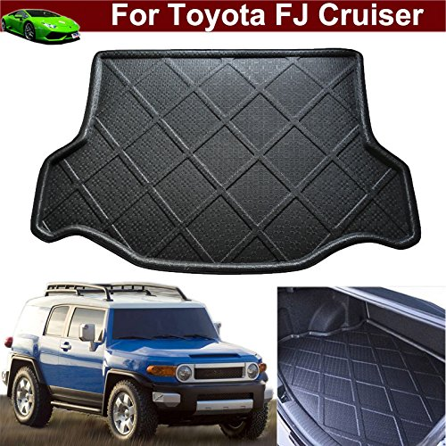 Car Mat Boot Mat Carpet Cargo Liner Cargo Mat Rear Trunk Liner Trunk Mat Cargo Tray Floor Mat For Toyota FJ Cruiser 2013 2014 2015 2016 2017 2018