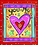 img - for You + Me = (Heart Symbol) by Cate Holly (2001-06-14) book / textbook / text book
