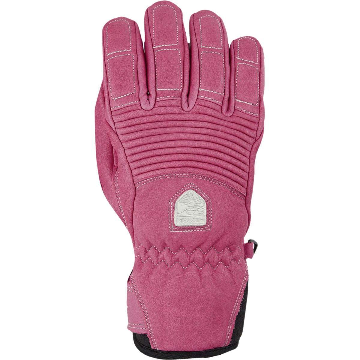 Hestra Leather Fall Line Glove Womens Cerise 9