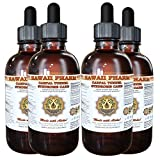 Carpal Tunnel Syndrome Care Liquid Extract, Bromelain (Ananas Comosus) Powder, Turmeric (Curcuma Longa) Root, Cat's Claw (Uncaria Tomentosa) Inner Bark Tincture Supplement 4x4 oz