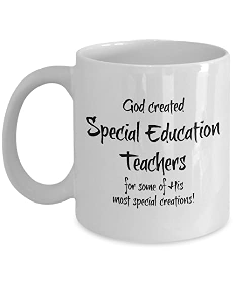 Amazon.com: Special Education Teacher Gifts Cup - Special Ed Teacher ...