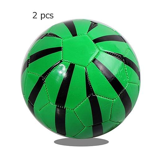 Fútbol ligero Mini balón de fútbol Tamaño oficial 2 Pelotas suaves ...