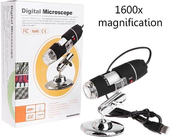 Mikroskop Für Studenten 1600x Usb Mikroskop Kamera Elektronik
