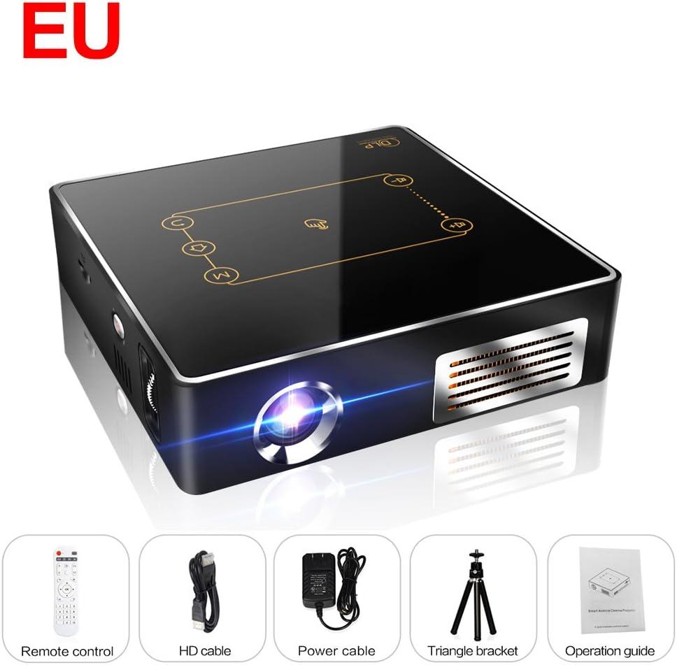 CSQ c9plus DLP min Proyector 4 K Cine en casa proyector 2500 ...
