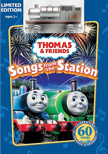 Limited Edition Thomas and Friends Songs from the Station with Wooden Train Bonus - Train Edition Pack