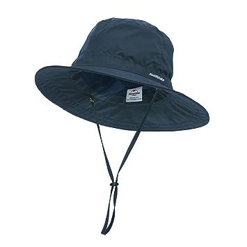 cfbf36f47d765 iBasingo Sombrero unisex con protección UV para pesca ventilación sombrero  de cubo de verano resistente al sol para hombres y mujeres  Amazon.es   Deportes y ...