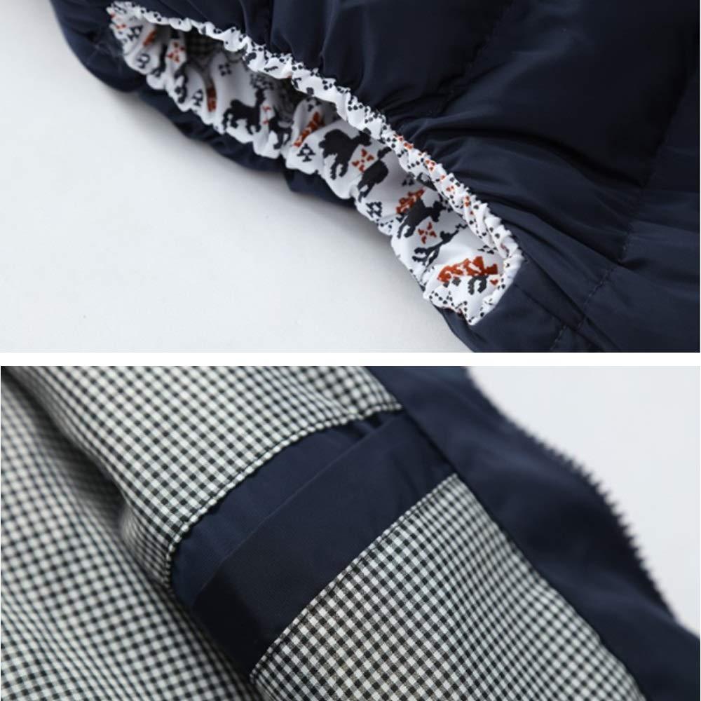 Winter Feather Vest Jacket Water-Resistant Queenmore Men/'s Premium Waterproof Lightweight Down Vest Coat Stable Zip