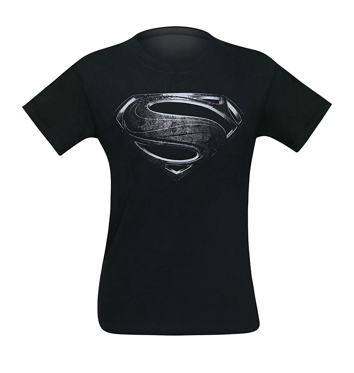7562c0180f9 Amazon.com  Bioworld Superman Silver Movie Symbol Men s T-Shirt  Clothing