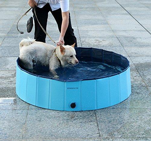 Hund Badewanne Faltbar Dogs Pet Bad Pool Teich Wanne Bett Katzen