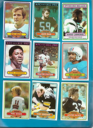 1980 TOPPS FOOTBALL COMPLETE SET (528)EXCELLENT- NEAR MINT PHIL SIMMS (1980 Mint)