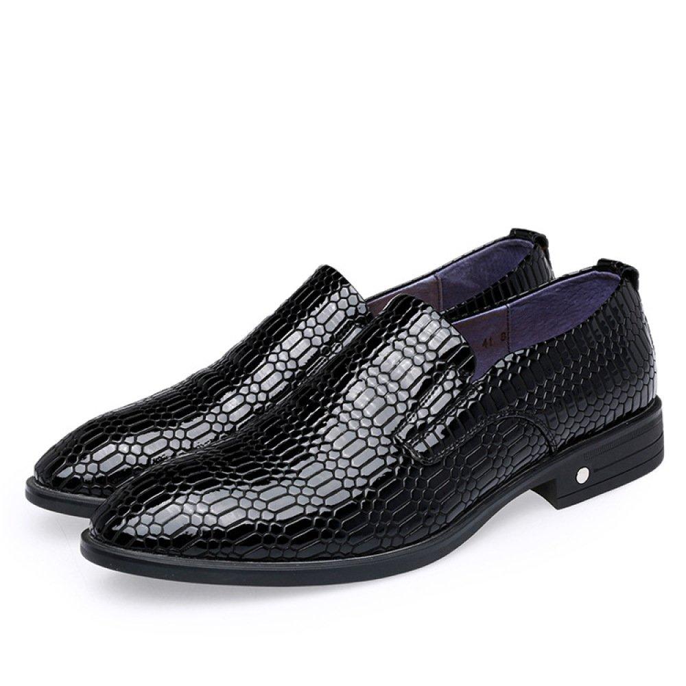 Männer Krokodil Kleid Schuhe High-End-Geschäft-Schuhe Bräutigam Hochzeitsschuhe