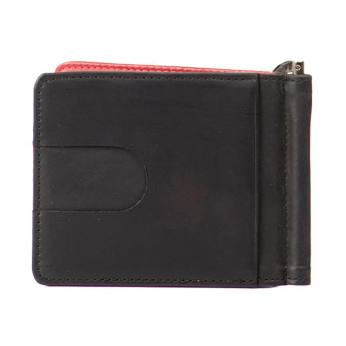 Velez Mens Genuine Full Grain Colombian Leather Bifold Wallets Credit Card Holder Slim Money Clip | Billeteras de Cuero Colombiano para Hombres Black at ...