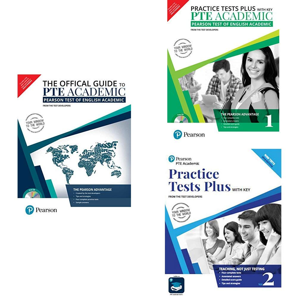 Buy PTE Academic - Official Guide + Practice Test Plus Vol