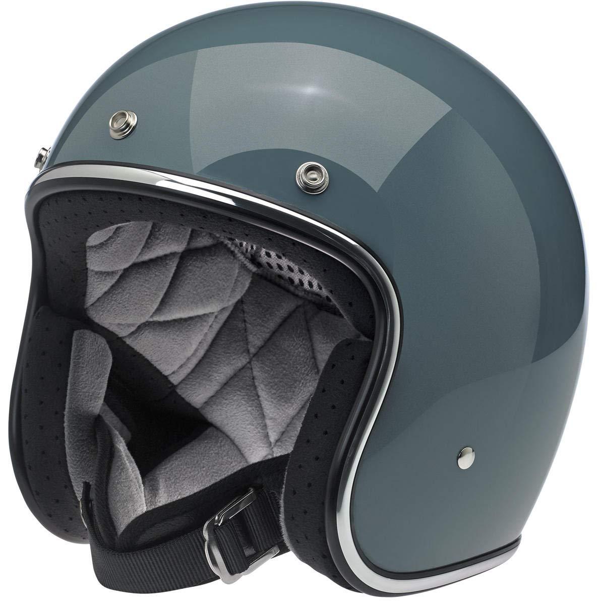 BH-BRZ-MT-DOT-XXL Bronze Metallic, XX-Large Biltwell Unisex-Adult Open face Bonanza 3//4 Helmet