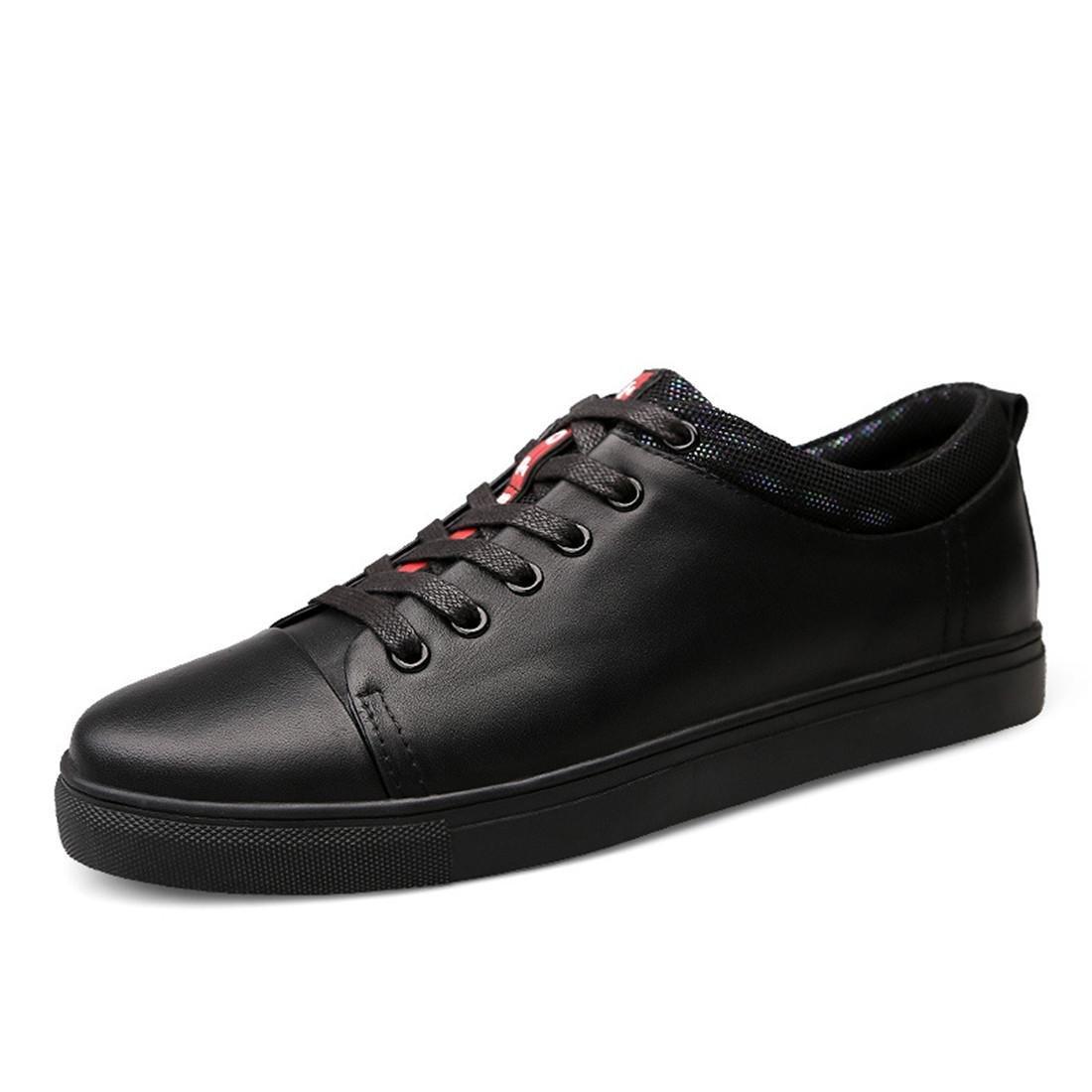 Herren Mode Freizeit Lederschuhe Lässige Schuhe Rutschfest Flache Schuhe Werkzeugschuhe Ausbilder EUR GRÖSSE 39-45