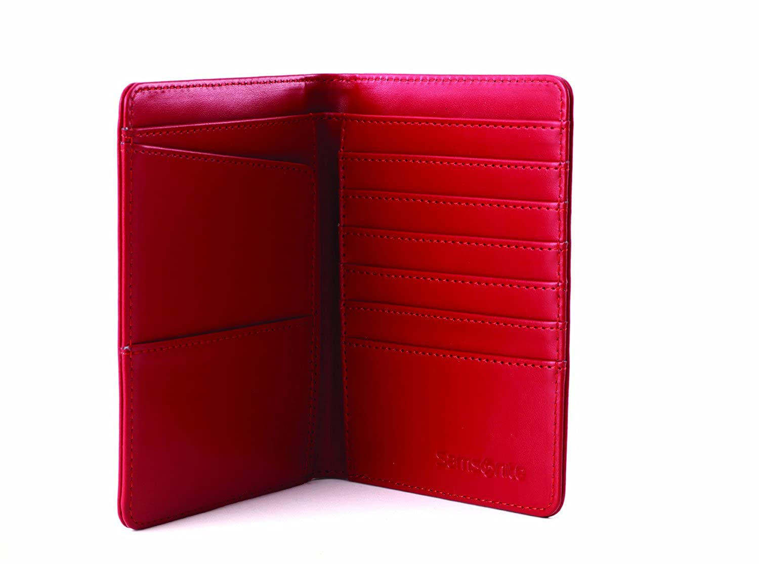 Amazon.com | Samsonite Luggage Passport Travel Wallet, Red Pepper ...
