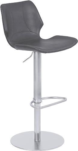 Armen Living Zuma Adjustable Barstool