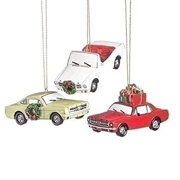 Image Unavailable. Image not available for. Color: Ford Motor Mustang 3  Inch Resin Christmas Ornament ... - Amazon.com: Ford Motor Mustang 3 Inch Resin Christmas Ornament Set