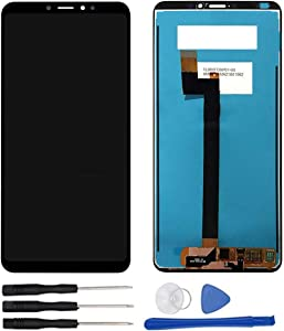 soliocial Assembly Replacement for Xiaomi Mi Max 3 Mi Max3 M1804E4A / M1804E4C Replacement LCD Display Touch Screen Digitizer Black