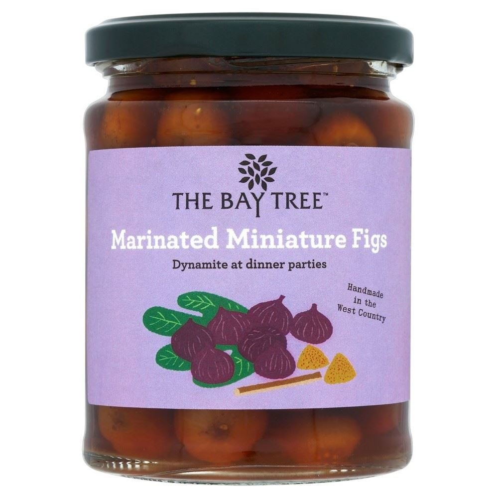 The Bay Tree Food Co. Marinated Mini Figs (320g) - Pack of 6