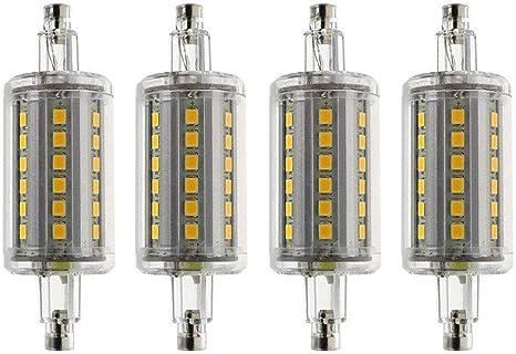 2 Pack Warm White 3000K AC 85-265V MD Lighting 12W R7S T3 LED Corn Bulb 118mm 120 LEDs 1250LM J Type 120W Halogen Bulb Equivalent J118 Double Ended Floodlight for Landscape Light Floor Lamp