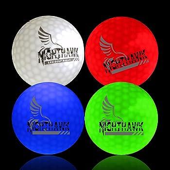 Nighthawk LED Light Up Golf Balls