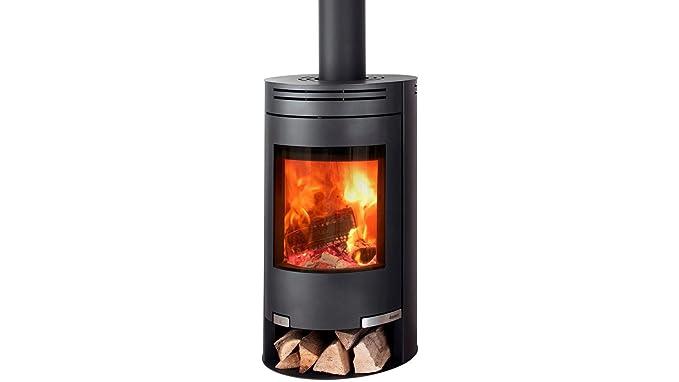 Aduro 1 - 2 6 kW negro contemporáneo estufa de leña: Amazon ...