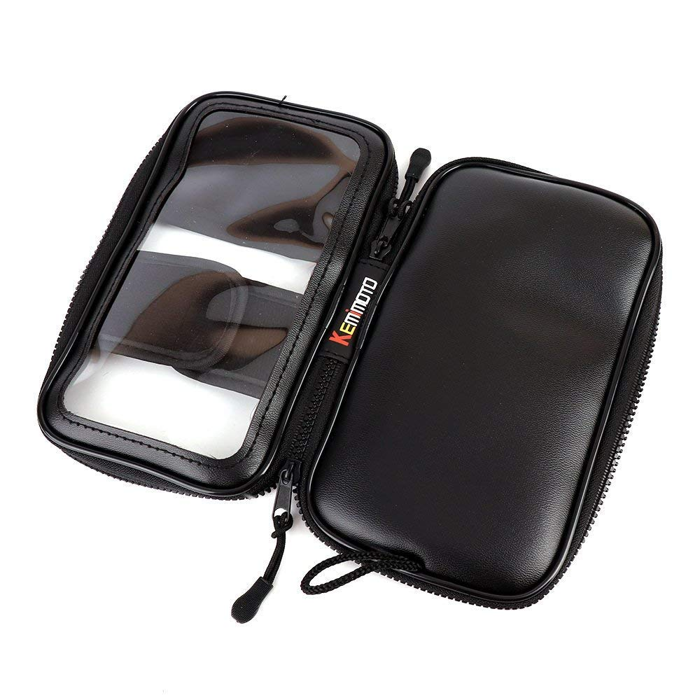 Magnetic Tank Bags,Small Tank Bag Motorbike Motorcycle Phone Case Pocket Pouch Touchscreen for Victory Honda Kawasaki Suzuki Yamaha BMW Sportbike Cruiser
