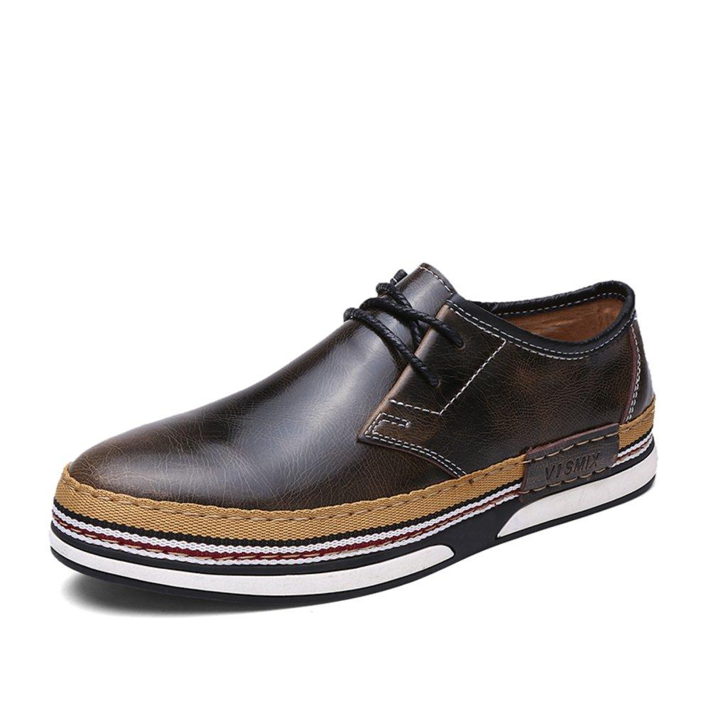 Männer formelle Kleidung business casual Schuhe Spitze Schuhe Britische Luft Runde Zehe