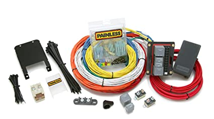 painless wiring 10144 15 circuit customizable extreme off-road harness  incl  10 fuse -