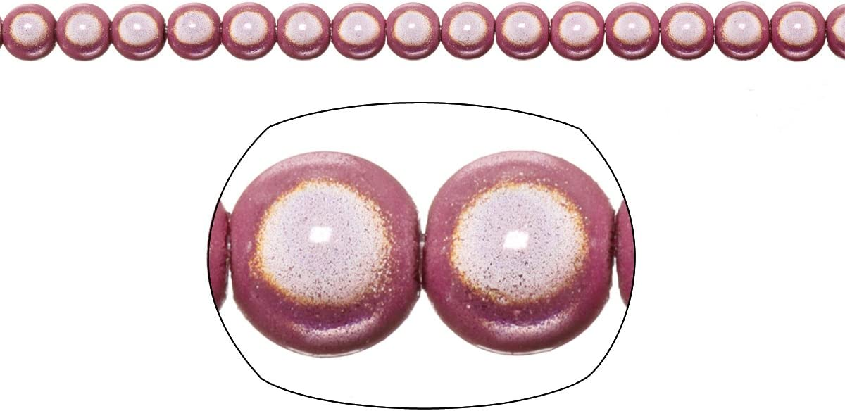 Miracle Beads, 6mm Round, Violet