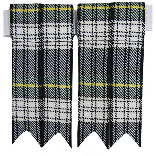 Tartanista Mens Dress Gordon Tartan Pointed Kilt Flashes
