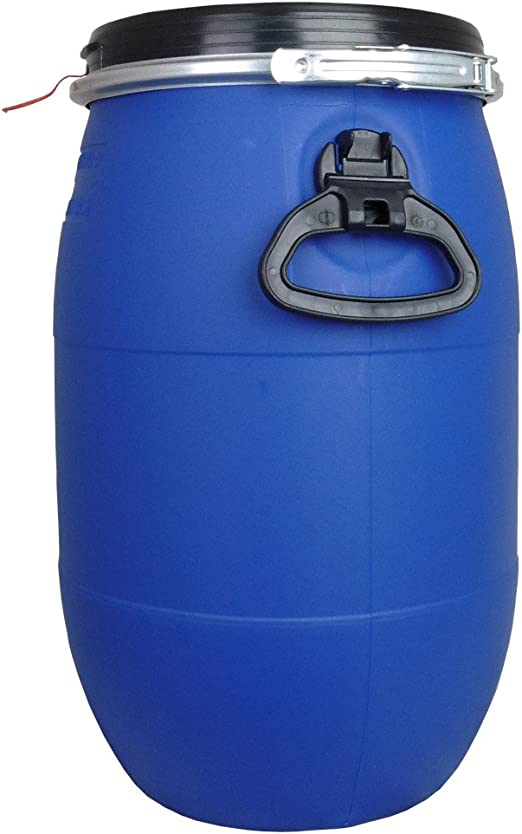 30 and 60 litre airtight barrel kegs water food grain storage approved free post