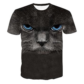 Hombres Blusa,Sonnena ❤ ❤ ❤ Patrón de Ciervo Gracioso Estampado Camiseta