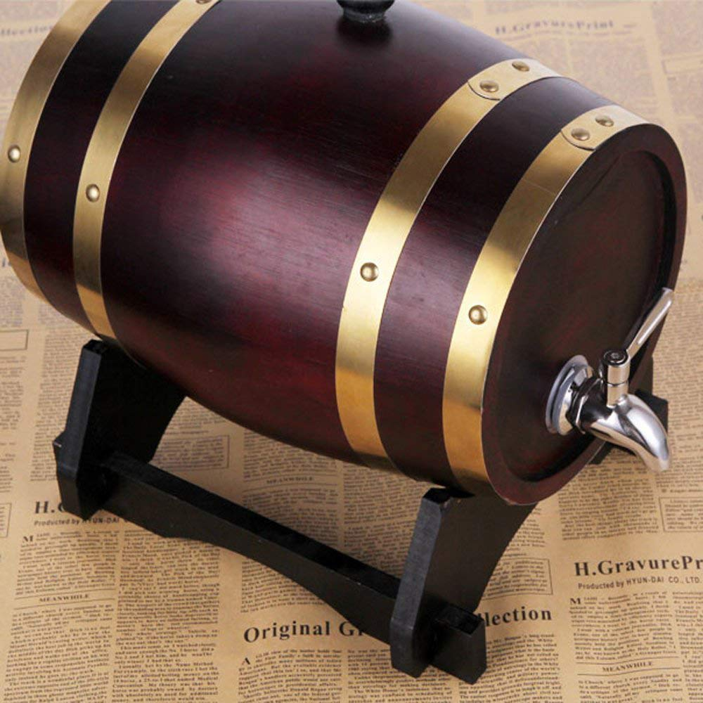 Reemplazo del grifo del dispensador de bebidas grifo de acero inoxidable 304 Grifo de metal para barril de vino Dispensador de agua Contenedor de vidrio Contenedor de bebidas Cerveza Fuente 2 piezas
