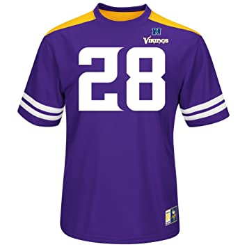 NFL Football Camiseta/Jersey/camiseta Minnesota Vikings Adrian Peterson # 28 Hash Mark II en L (Large): Amazon.es: Deportes y aire libre