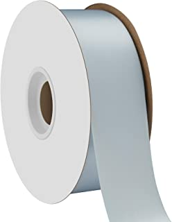 product image for Offray Single Face Satin Craft 1-1/2-Inch by 50-Yard Ribbon Spool, Light Blue
