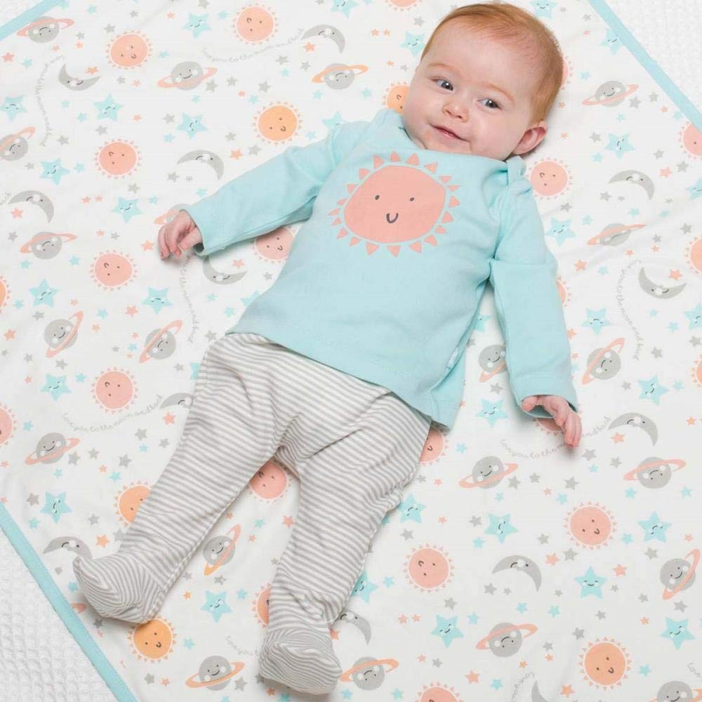 Kite Baby Ringel-Hose mit Fu/ß Bio-Baumwolle 50