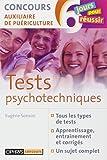 Tests psychotechniques - Concours auxiliaire de puériculture
