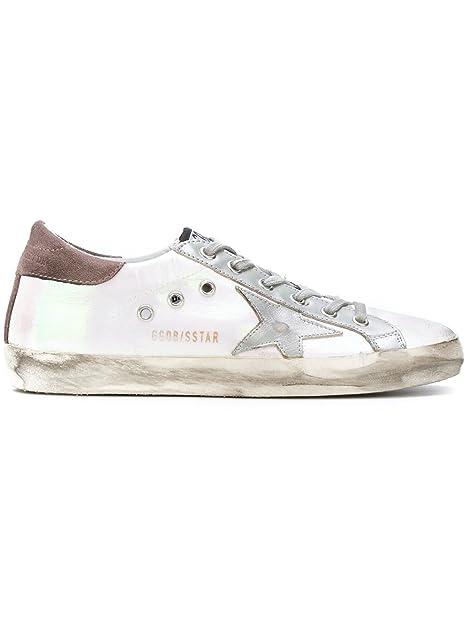 4a2336aabdfe6 Golden Goose Deluxe Brand Women Sneakers Low Top Superstar Iridescent  Metalic Star G31WS590 C44 (whoosso)  Amazon.ca  Shoes   Handbags