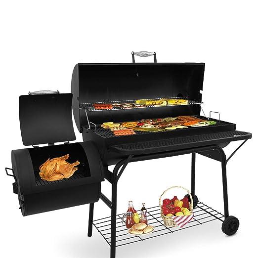 Beofine BBQ Parrillas de carbón vegetal con 2 rejillas para ...