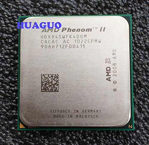 AMD Phenom II X4 945 Deneb 3 GHz Quad-Core CPU Processor HDX945WFK4DGM Socket AM3 95W