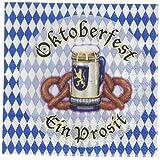 Kitchen & Housewares : Beistle 58169 16-Pack Oktoberfest Beverage Napkins