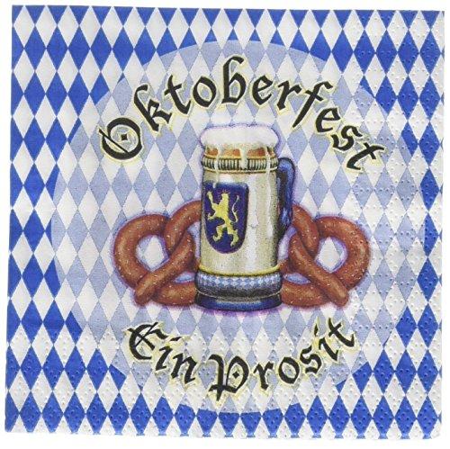 Beistle 58169 16-Pack Oktoberfest Beverage -