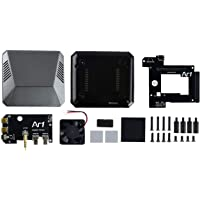 Waveshare Argon ONE A Decent Aluminum Case for Raspberry Pi 4 with Safe Power Button