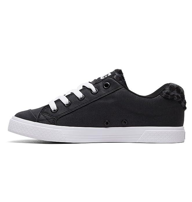 28dcb6adae90 DC Shoes Chelsea TX SE - Shoes - Shoes - Women - EU 42.5 - Black: Amazon.co. uk: Shoes & Bags