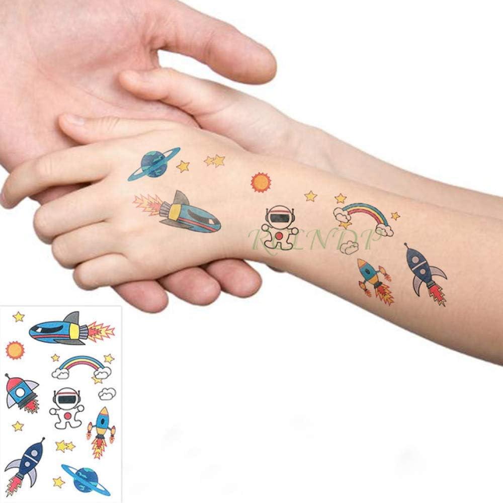 adgkitb 5piezas Impermeable Etiqueta engomada del Tatuaje Temporal ...