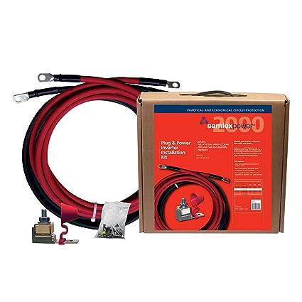 Peachy Amazon Com Samlex America Dc 2000 Kit Inverter Installation Kit Wiring 101 Ariotwise Assnl