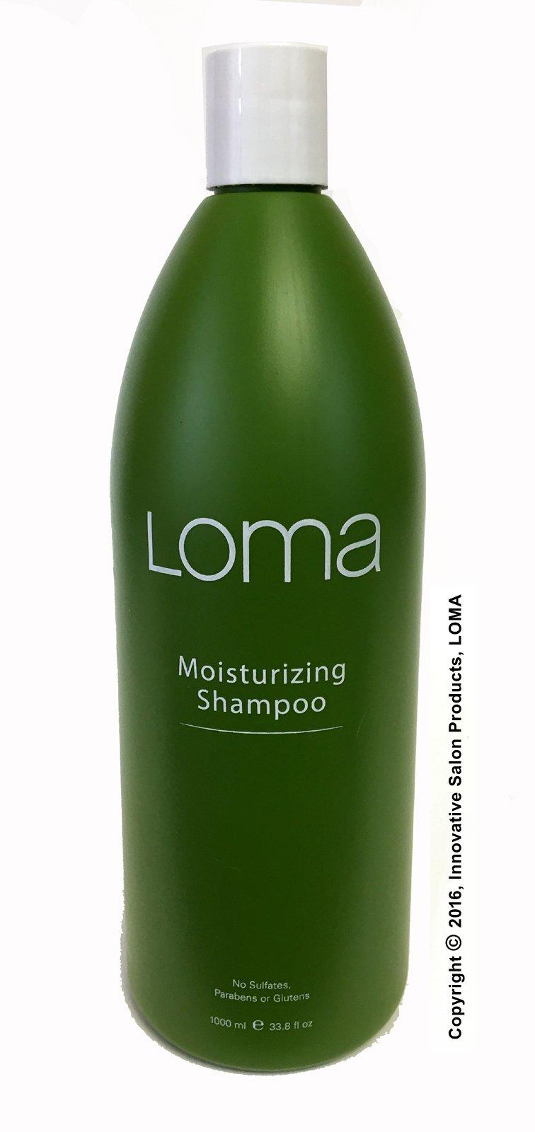 Loma Moisturizing Shampoo, 33.8 Fl Oz by Loma Hair Care