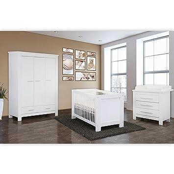 Babyzimmer komplett  Babyzimmer / Kinderzimmer komplett Enni in Weiß, Komplettset mit ...